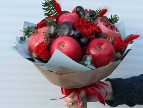Красивые букеты из овощей и фруктов: что такое фудфлористика?