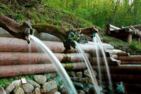 Водопад «Гремячий ключ», как настоящее чудо Подмосковья