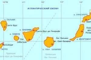 По какому животному названы Канарские острова?