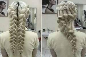 Как плести колосок, схема для начинающих – первый шаг к сложным прическам из кос