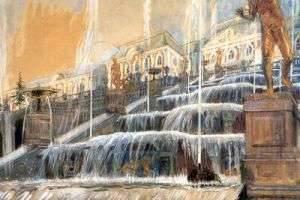 Как добраться до Петергофа по воде, рельсам и суше