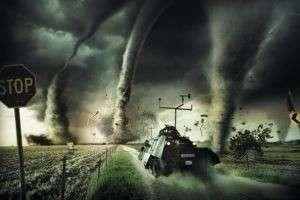 Самые сильные ураганы и смерчи в мире