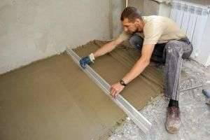 Как залить полы в квартире самостоятельно: инструкция для «чайников»
