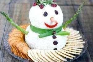 Как украсить блюда на Новый год Козы
