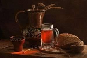 Старинные рецепты для вашего стола, или Как приготовить хлебный квас в домашних условиях