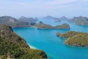 Карта островов Таиланда: Пхукет, Самуи и острова киногероев