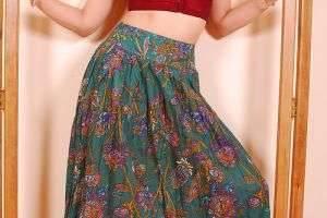 Что можно носить с юбками в пол?