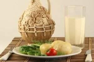 На кефирно-картофельной диете худеют, не чувствуя голода