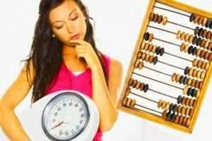 Как рассчитать количество калорий в день, чтобы похудеть