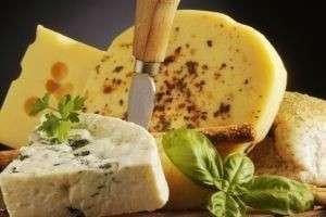 Виды твердых сыров, наиболее популярные в России