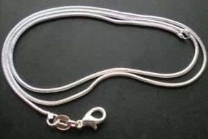 Как очистить серебряную цепочку