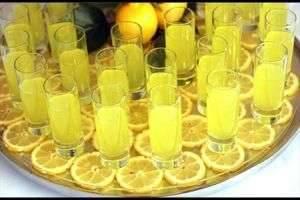 Лимончелло - капля Италии в вашей рюмке!