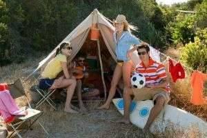 Палаточный отдых в Крыму на Черном море и места для отдыха с палаткой