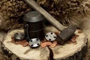 Чеканка монет своими руками