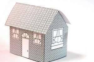 Программа доступного жилья в действии, или Как сделать домик из бумаги?