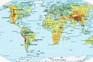 Чем отличается материк от части света и что такое континент