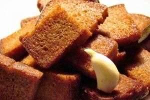 Как дома сделать сухарики – маленькие хитрости вкусной закуски