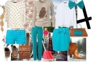 Сочетание бирюзового цвета в одежде: советы стилиста