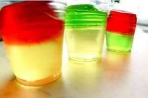 Алкогольное желе – десерт для взрослых