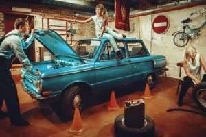 Как избавиться от сырости в машине и в гараже?