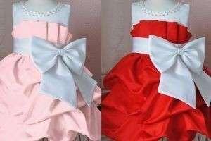 Как сделать бант на платье своими руками из ткани и лент?