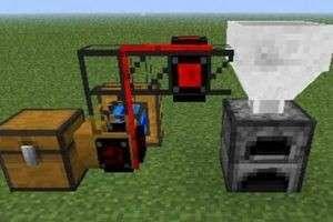Как сделать двигатель в Майнкрафт?