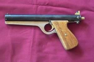 Как сделать пистолет: схема выполнения