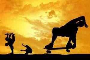Как научиться кататься на скейтборде: контроль над доской и первые трюки