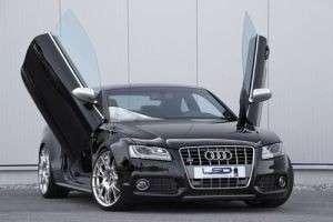 Как установить откидные двери на Audi?
