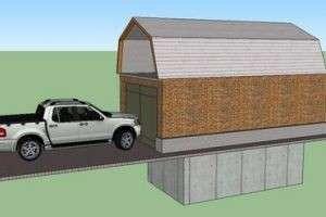Дом для железного друга, или Как построить гараж своими руками