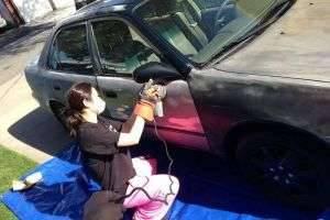 Покраска авто своими руками: советы для новичков