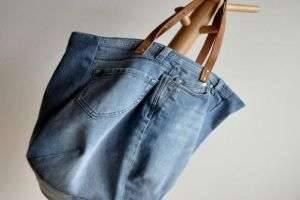 Что можно сделать из старых джинс — оригинальные детали интерьера и аксессуары