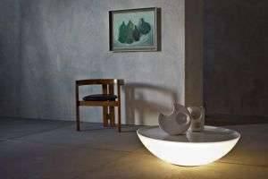 Solar lamp: столик для ноутбука, светильник и арт-объект