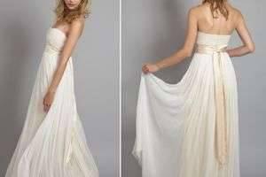 Что такое греческий стиль в свадебном платье?