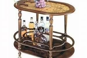 Сервировочный стол – праздник на колесиках
