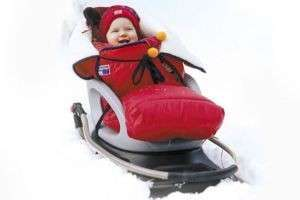 Как выбрать санки-коляску для одного ребенка и двойни?