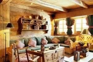 Стиль кантри в интерьере дома: фото и особенности
