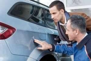 О том, как удалить вмятину на машине