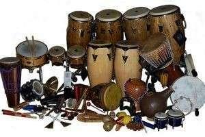 Ударные музыкальные инструменты разных народов (испанские, индийские, египетские, китайские, русские)