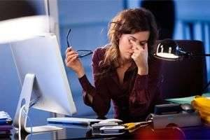 Упражнения для глаз при работе на компьютере