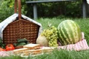 Как грамотно составить меню на пикник на природе