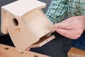 Как сделать скворечник своими руками из дерева, фанеры и пластиковых бутылок?