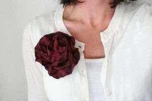 Как сделать цветы из ткани своими руками: яркие идеи для рукодельниц