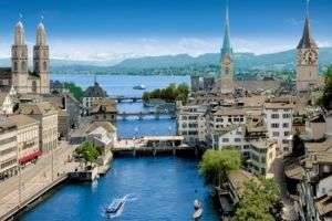 Самый старый город мира: Цюрих