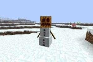 Как сделать снеговика в «Майнкрафте» с использованием мода и без него