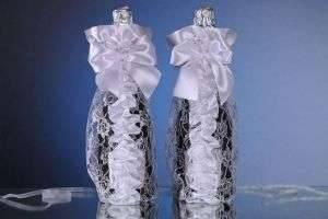Как оформить бутылку шампанского по-новогоднему?