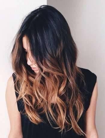 Делаем красивые волосы с помощью балаяжа