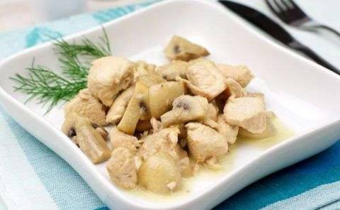 Куриное филе, тушеное в сливках: проверенные рецепты на каждый день