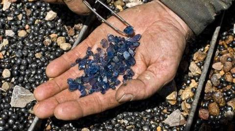 Добыча драгоценных камней в России