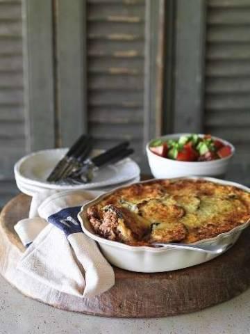 Мусака из баклажанов и кабачков с фаршем: простые рецепты на каждый день